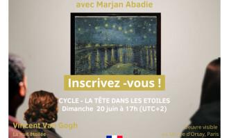 Session Mindful Art le 20/06 à 17h00 (UTC+2)