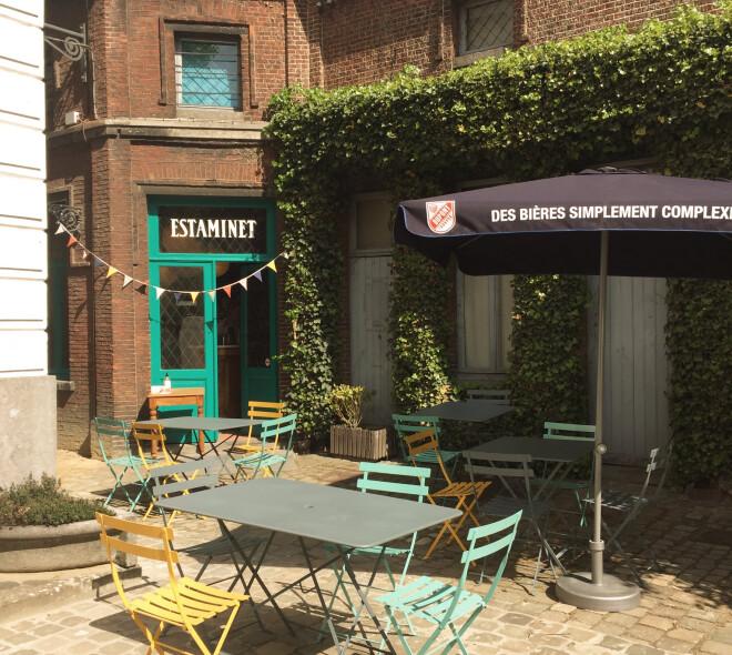 L'Estaminet : petit coin de paradis à Schaerbeek