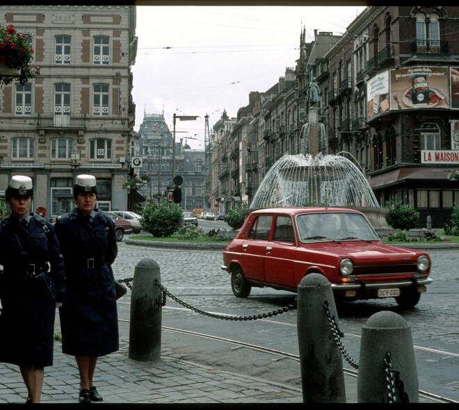 Des photos de Bruxelles dans les années 80