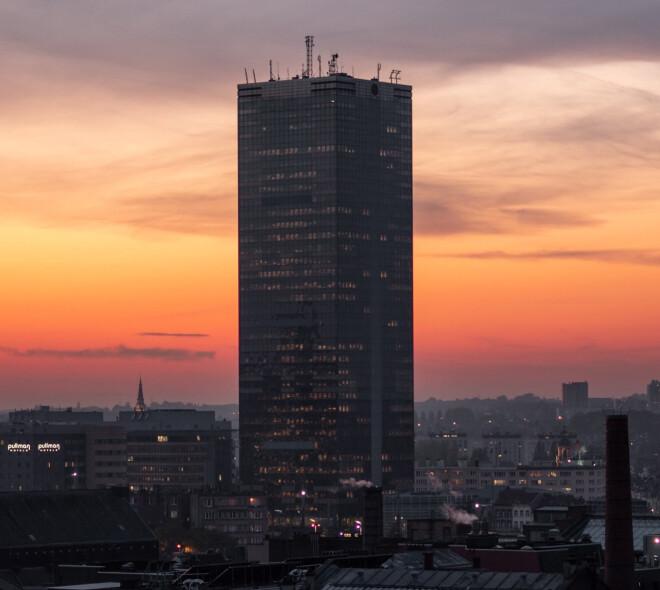 Top 20 des plus hauts gratte-ciel de Bruxelles