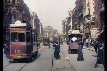 Bruxelles en 1908