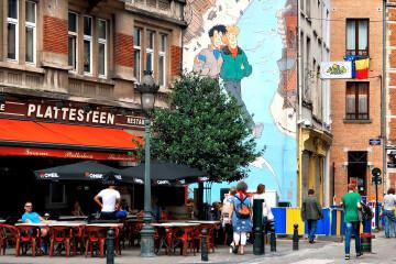 Bruxelles dans la BD