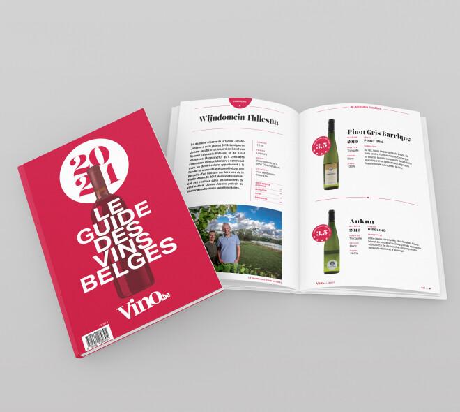 Le Guide des Vins Belges, premier cru !