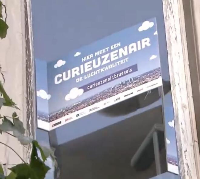 Bruxelles et la qualité de l'air : CURIEUZENAIR