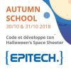 Autumn School 2018: code ton Halloween's Space Shooter!