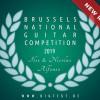 Brussels National Guitar Competition « Ilse & Nicolas Alfonso » : Finale publique