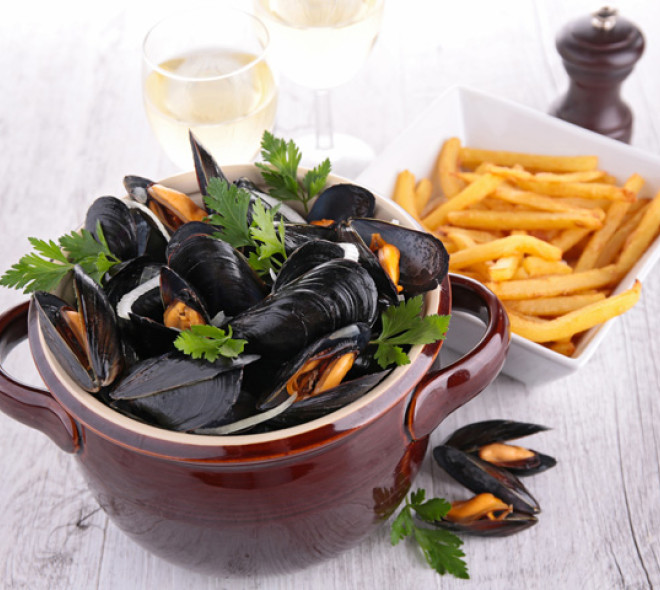 Mussels, a typically-Belgian dish!