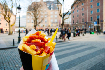 "The Belgian ""frite"" revealed!"