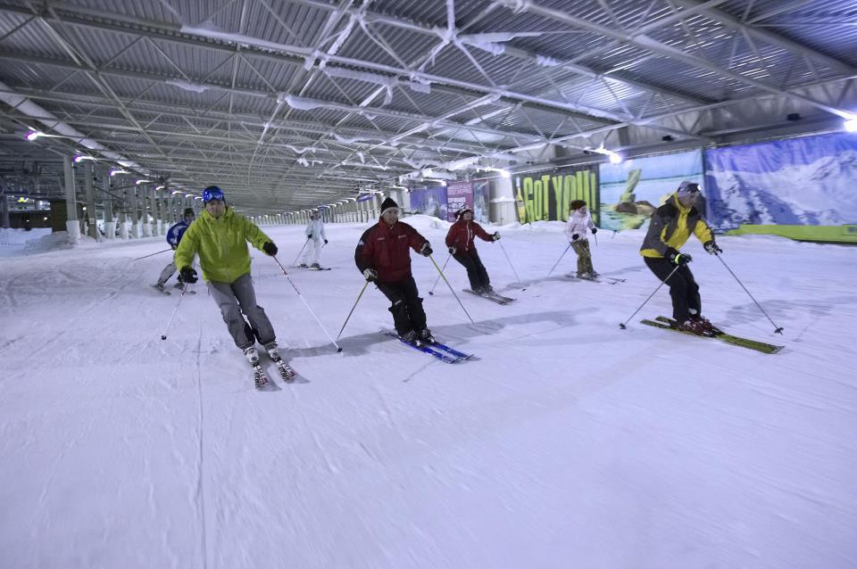 Snowworld: skiez en intérieur à 2h de Bruxelles
