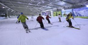 Snowworld, ski indoor