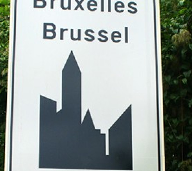 """When Brussels becomes """"Bruxelles"""" or """"Brussel"""""""