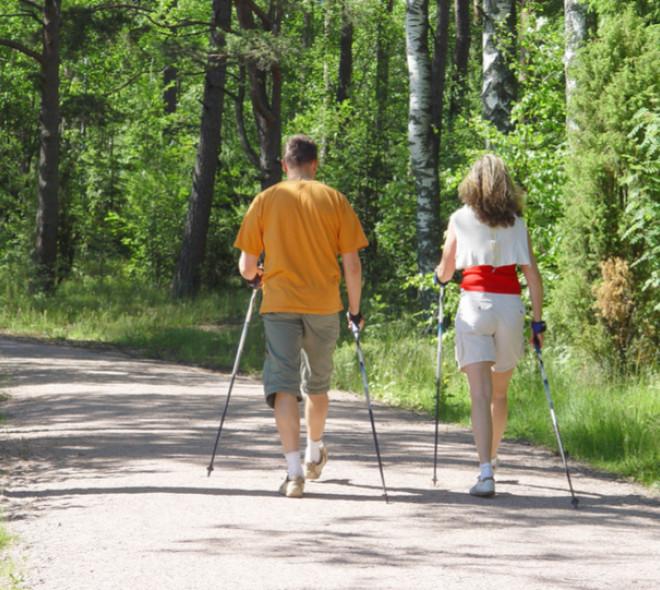Nordic walking heeft onze contreien bereikt