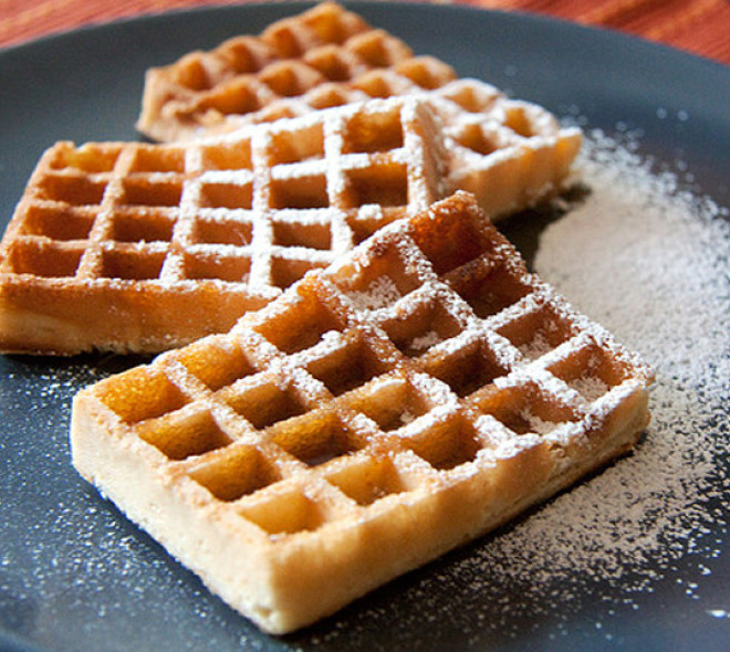 Brussels and Liège Waffles