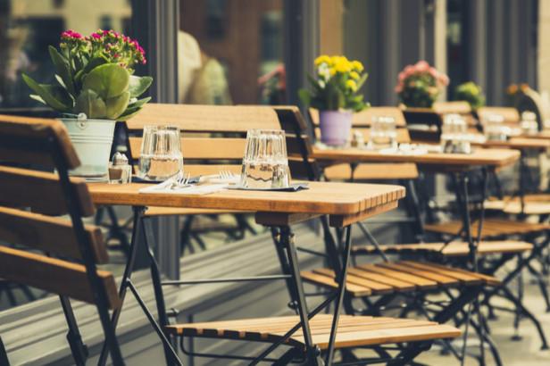 Terrassen en tuinen van Brusselse restaurants