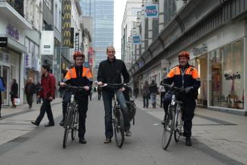 Op stap met de Bikers Brigade van Brussel
