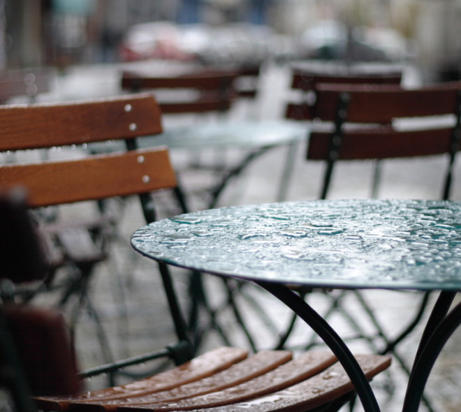 Survival guide to rain in Brussels