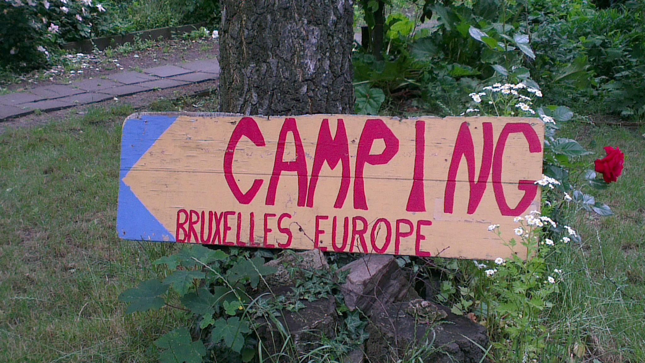Faire du camping à Bruxelles, c'est possible !