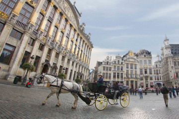 Horse-drawn carriage tours in Brussels