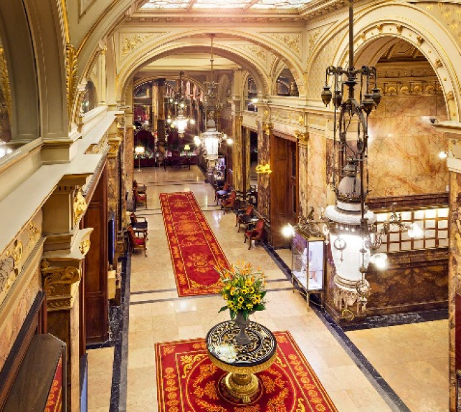 Restaurants inside hotels