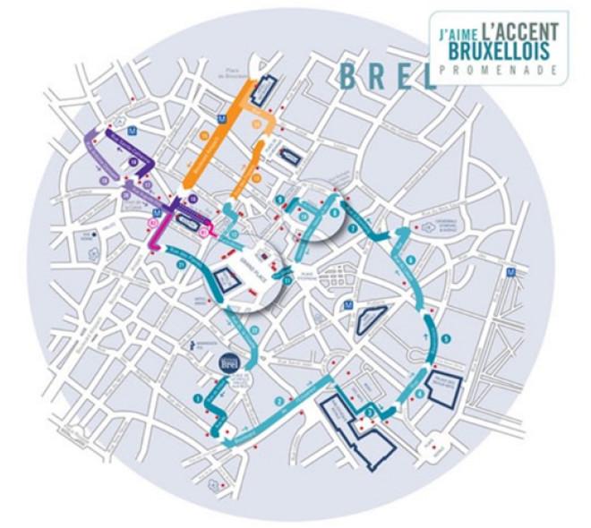 Promenade with Brel in Brussels