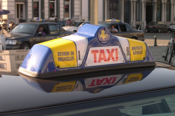 Prenez le taxi à Bruxelles