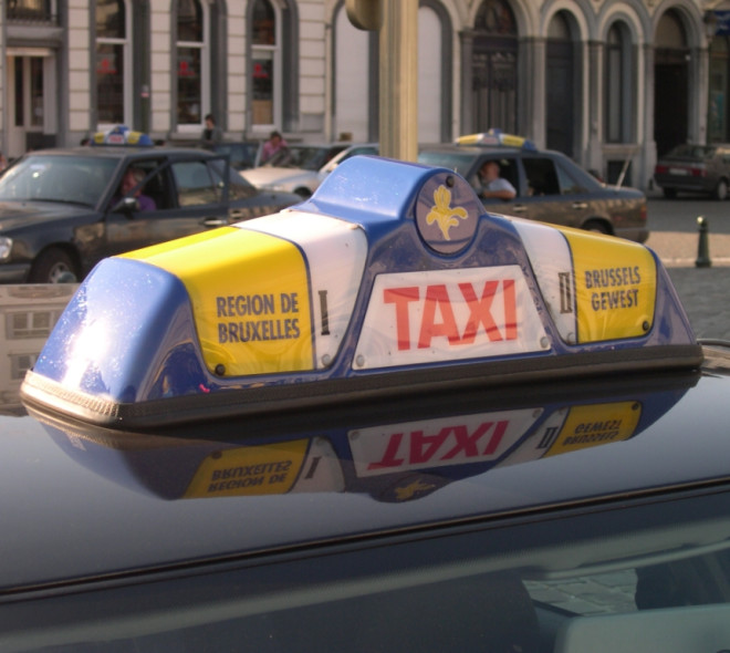 Take a taxi in Brussels
