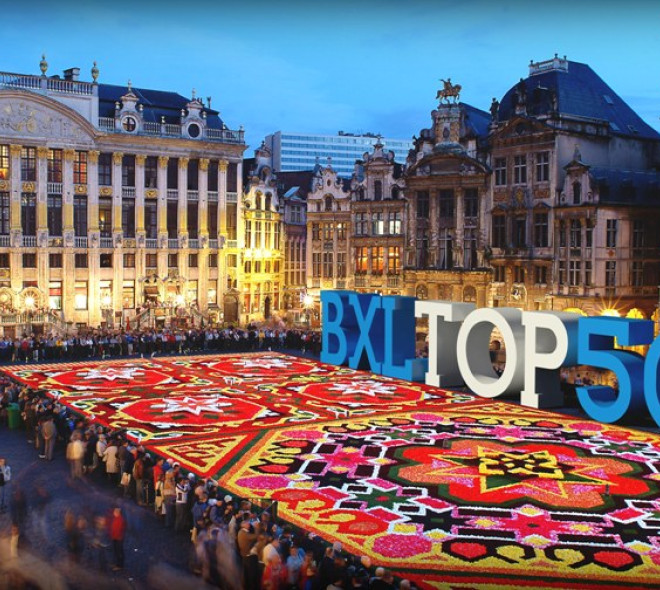 50 reasons to be proud of Brussels