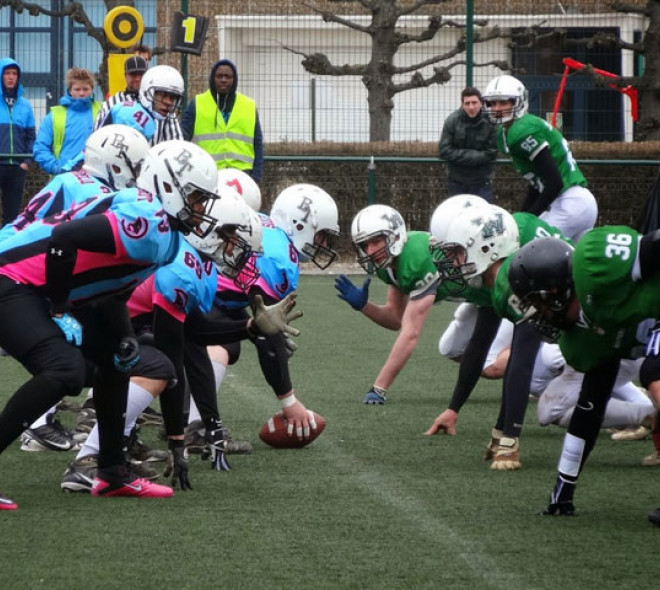 American football in Brussels
