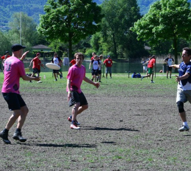 Ultimate frisbee in Brussels