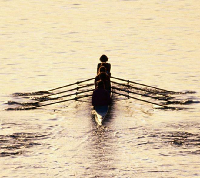 Rowing in Brussels