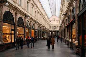 Sunday shopping in Brussels
