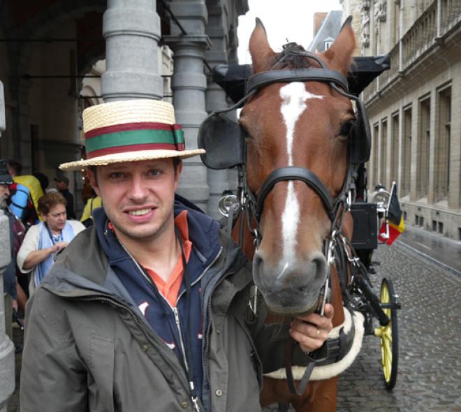 Een dag als koetsier in Brussel