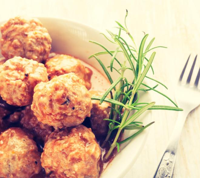 Recipe for gueuze ballekes (meatballs)