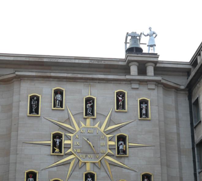 The carillon at Mont des Arts gets its Jacquemart back
