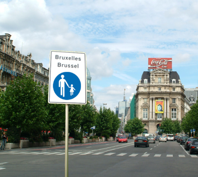 Center of Brussels will be pedestrian in the summer of 2015