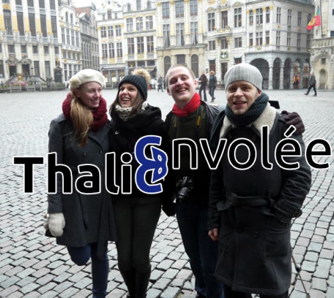 Thalie Envolée, des Bruxellois au service de la poésie