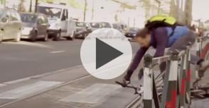 Les aventures urbaines d'un cycliste bruxellois