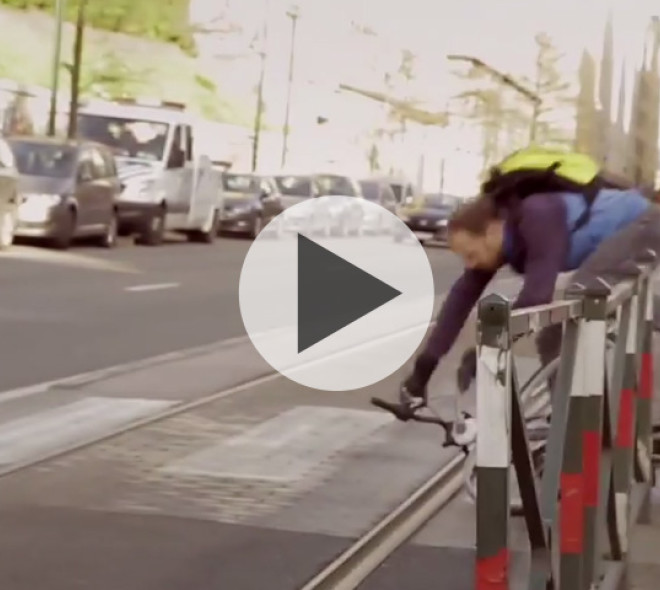 The city adventures of a Brussels cyclist