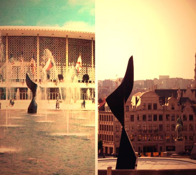 Quand les monuments bruxellois jouent à la chaise musicale...