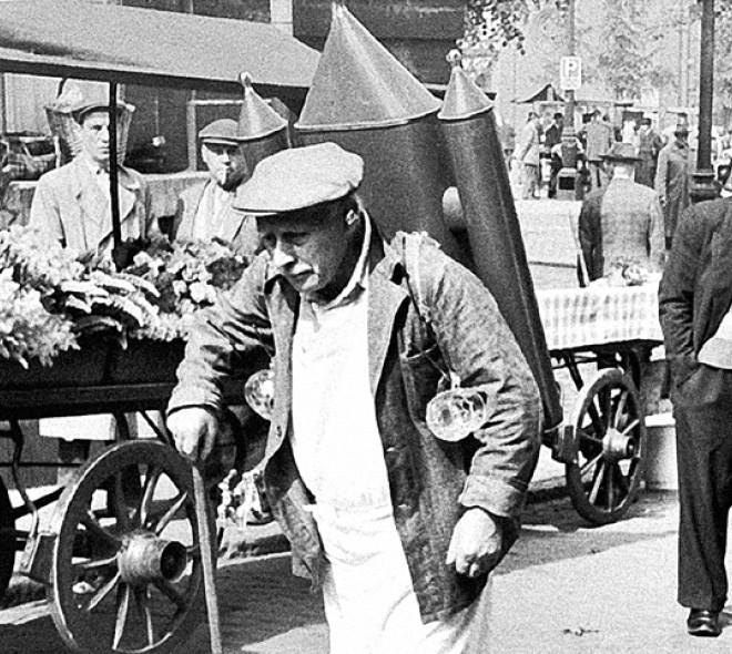 Le marchand de coco, l'homme qui rafraîchissait le tout Bruxelles!