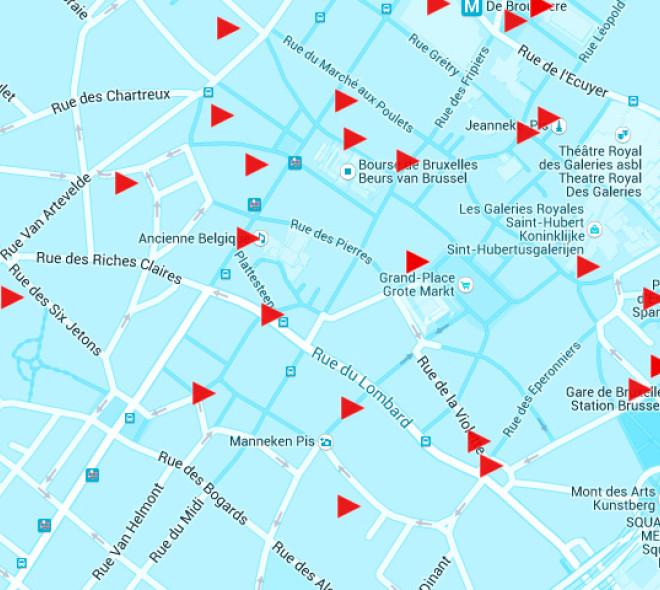 Brussels Soundmap, la carte sonore de Bruxelles
