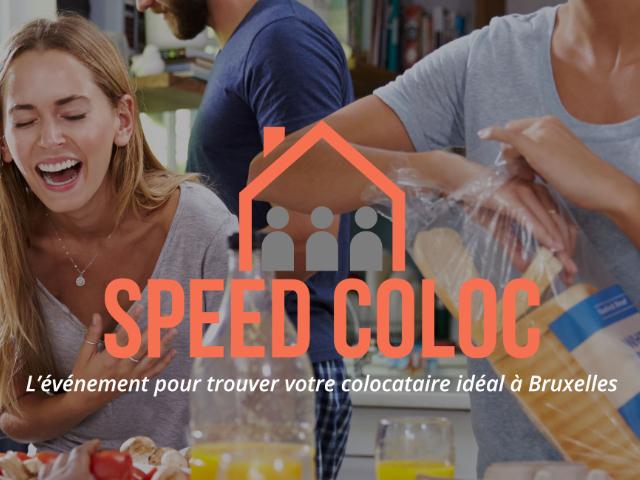 Speed Coloc, trouver une colocation à Bruxelles