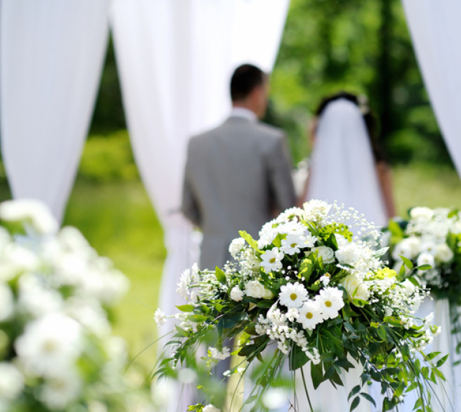 Mariage en plein air à Uccle