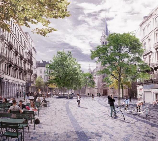 Le futur Parvis de Saint-Gilles ?