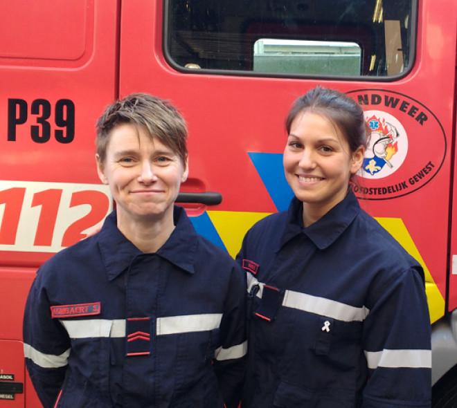 Pompier au féminin