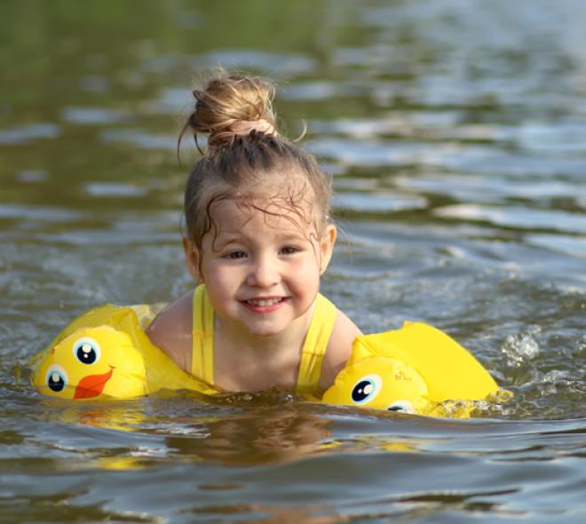 Se baigner en plein air à Laeken