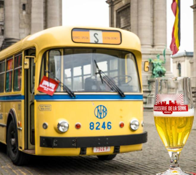 Brussels Beer Bus, deux parcours des bières à Bruxelles