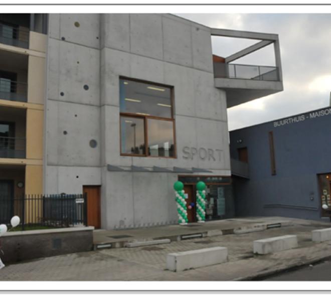 Une salle de sport Mohamed Ali à Molenbeek