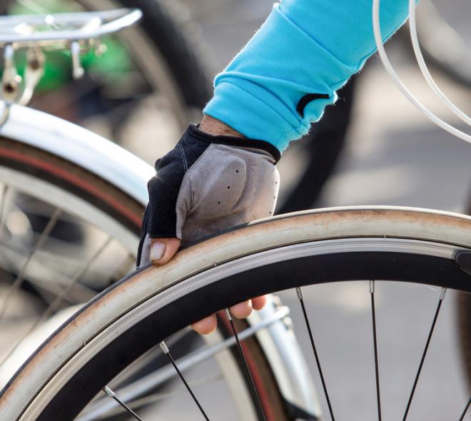 Des pompes à vélo à Ixelles