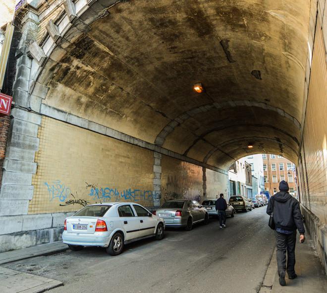 De l'art dans les tunnels